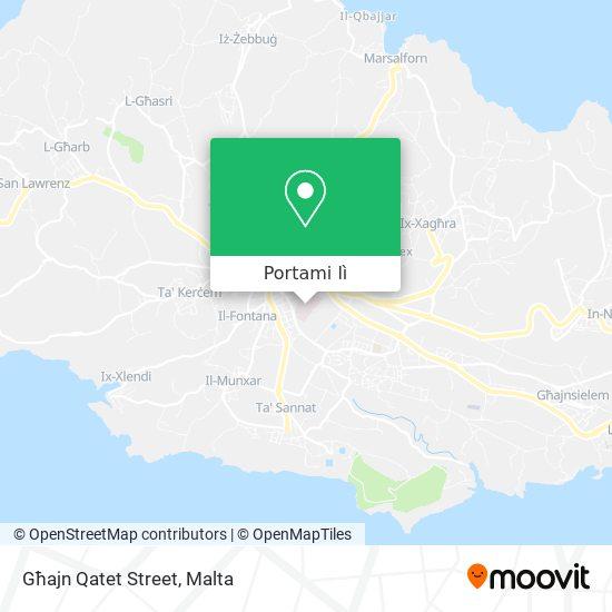 Mappa Għajn Qatet Street