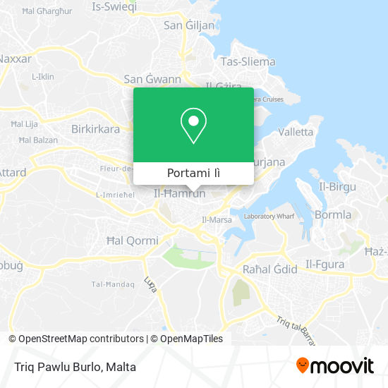 Mappa Triq Pawlu Burlo