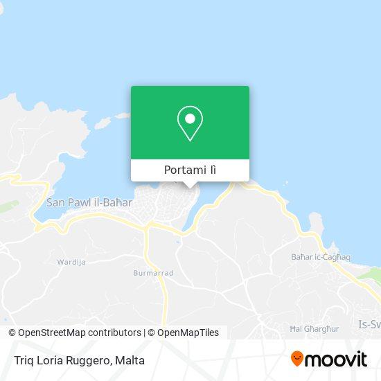Mappa Triq Loria Ruggero