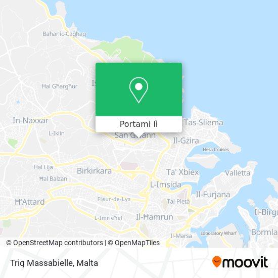 Mappa Triq Massabielle