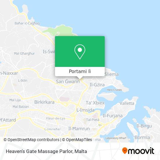 Mappa Heaven's Gate Massage Parlor