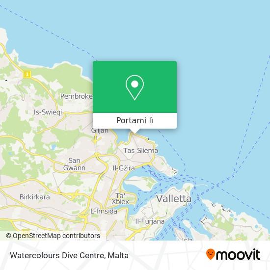 Mappa Watercolours Dive Centre