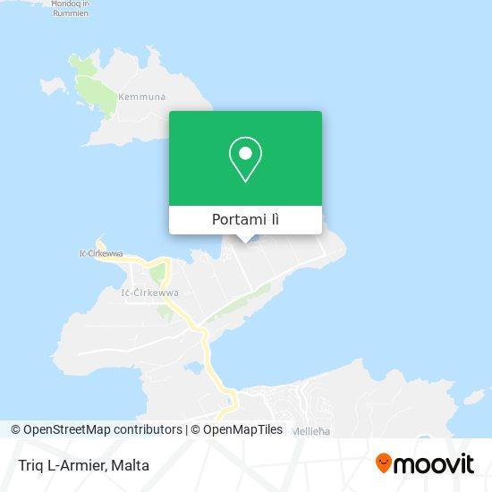 Mappa Triq L-Armier