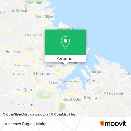 Mappa Vincenzo Bugeja