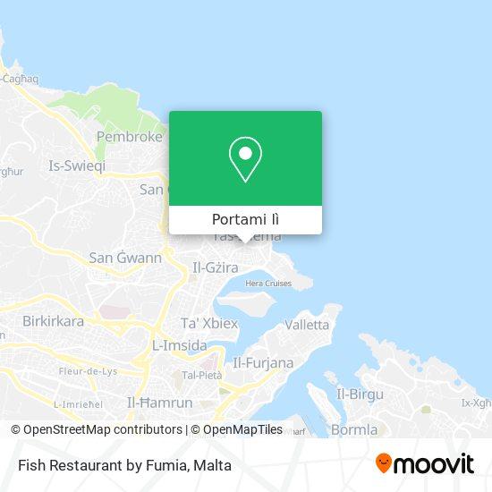 Mappa Fish Restaurant by Fumia