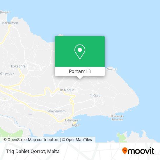 Mappa Triq Dahlet Qorrot