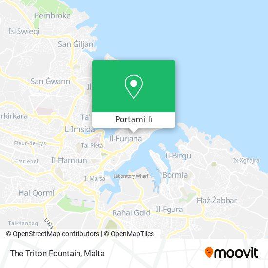 Mappa The Triton Fountain