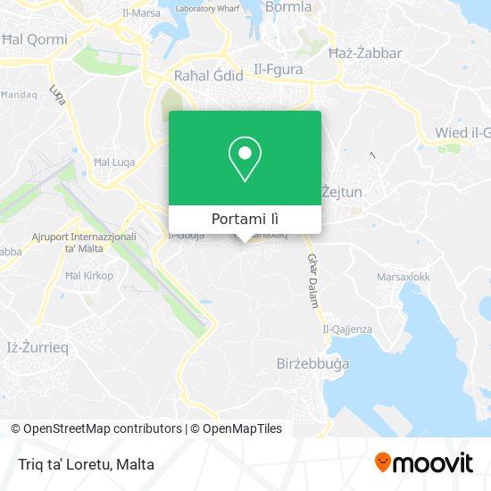 Mappa Triq ta' Loretu