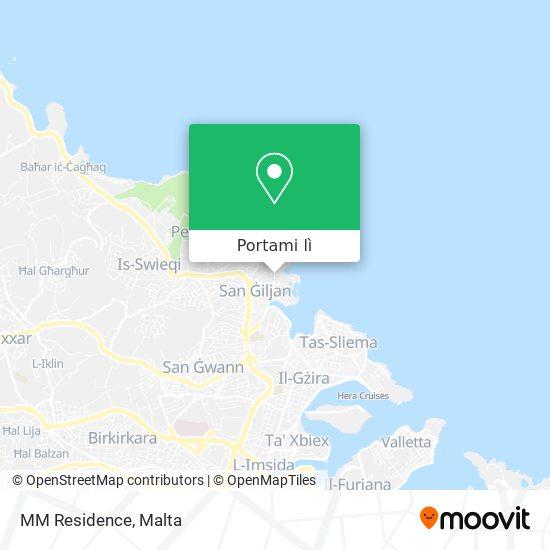 Mappa MM Residence