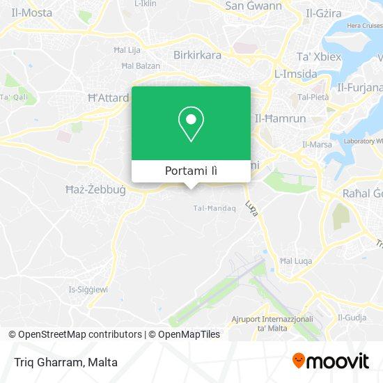Mappa Triq Gharram