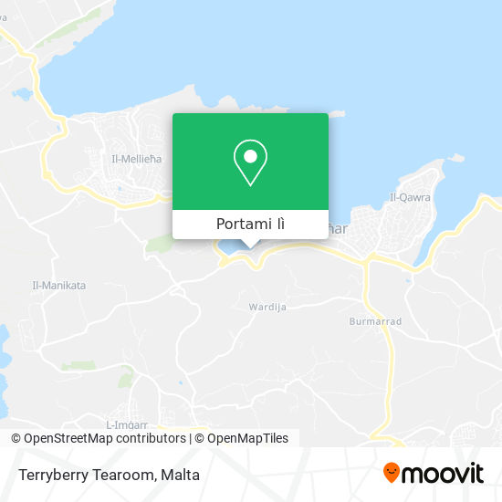 Mappa Terryberry Tearoom