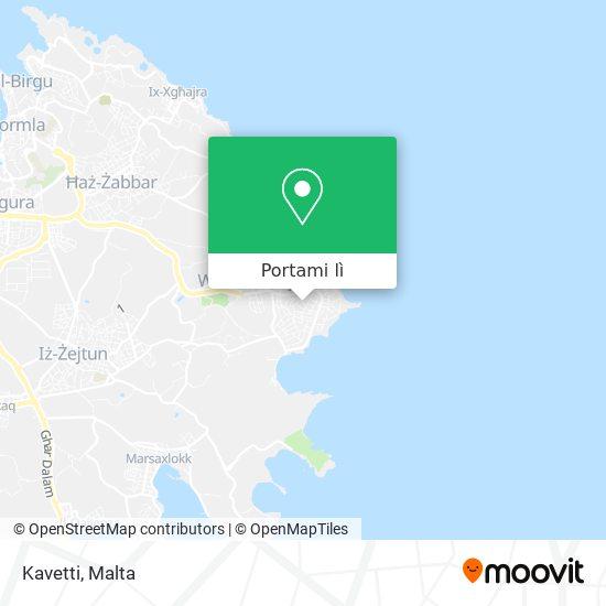 Mappa Kavetti