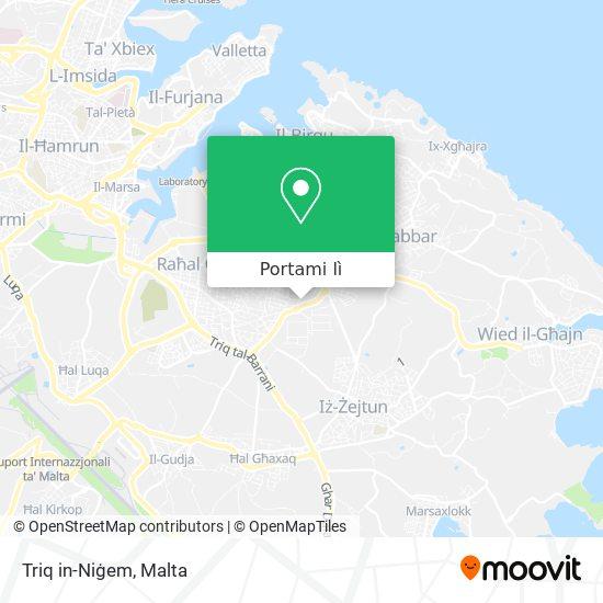 Mappa Triq in-Niġem