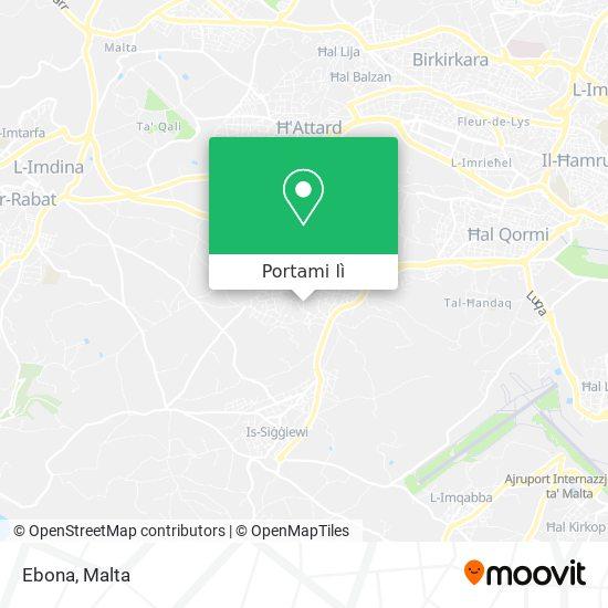 Mappa Ebona