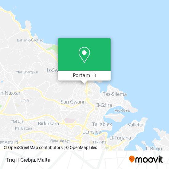 Mappa Triq il-Ġiebja