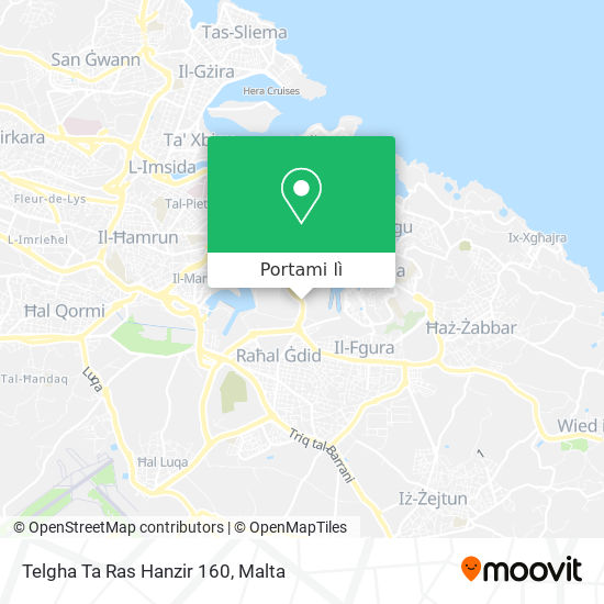Mappa Telgha Ta Ras Hanzir 160