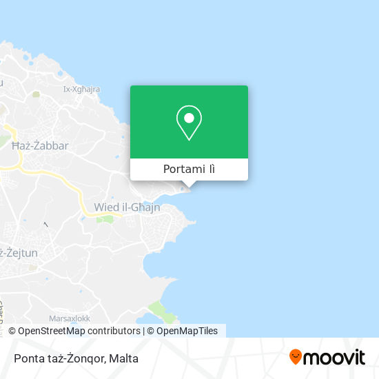 Mappa Ponta taż-Żonqor