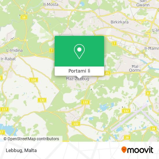 Mappa Lebbug