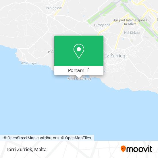 Mappa Torri Zurriek
