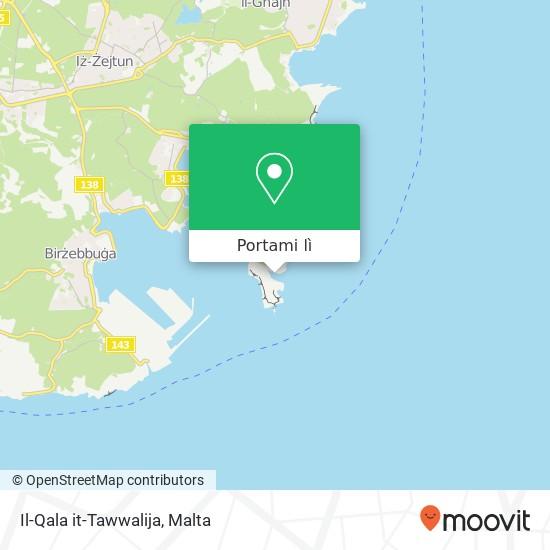 Mappa Il-Qala it-Tawwalija