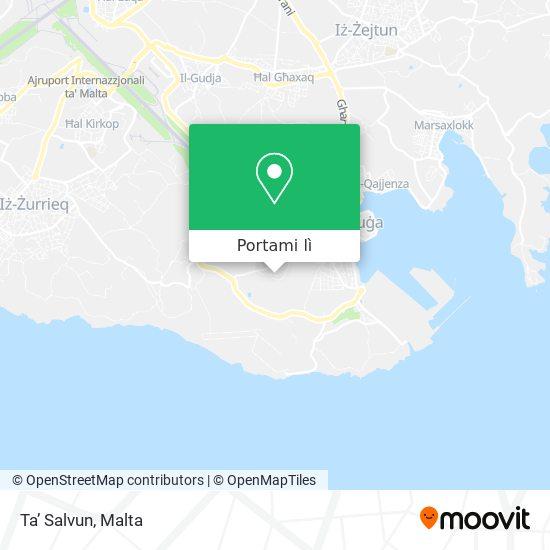 Mappa Ta' Salvun