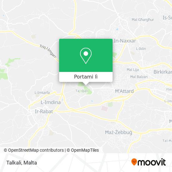 Mappa Talkali