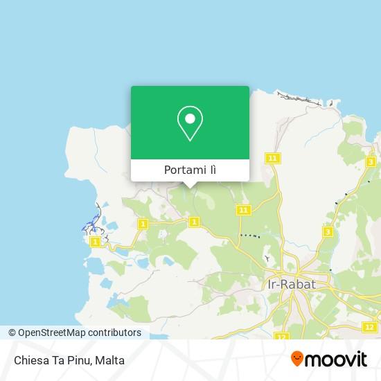 Mappa Chiesa Ta Pinu