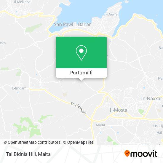 Mappa Tal Bidnia Hill