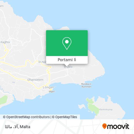 Mappa آلا، مالٹا