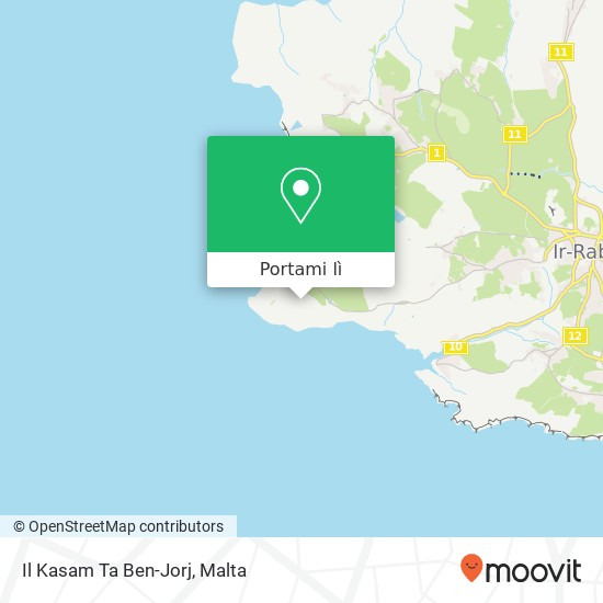 Mappa Il Kasam Ta Ben-Jorj