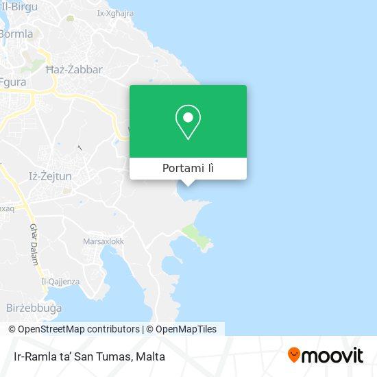 Mappa Ir-Ramla ta' San Tumas
