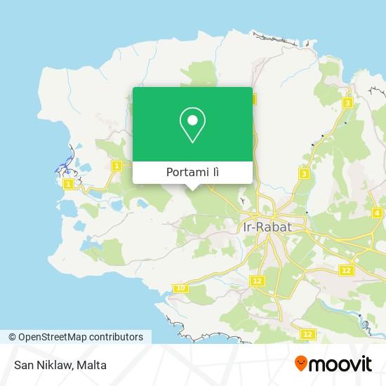 Mappa San Niklaw
