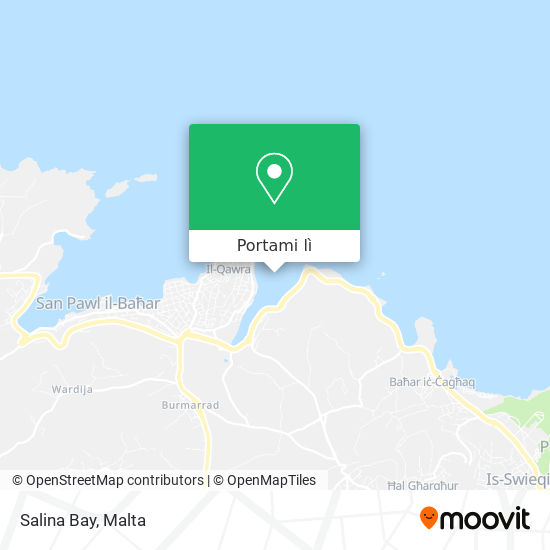 Mappa Salina Bay