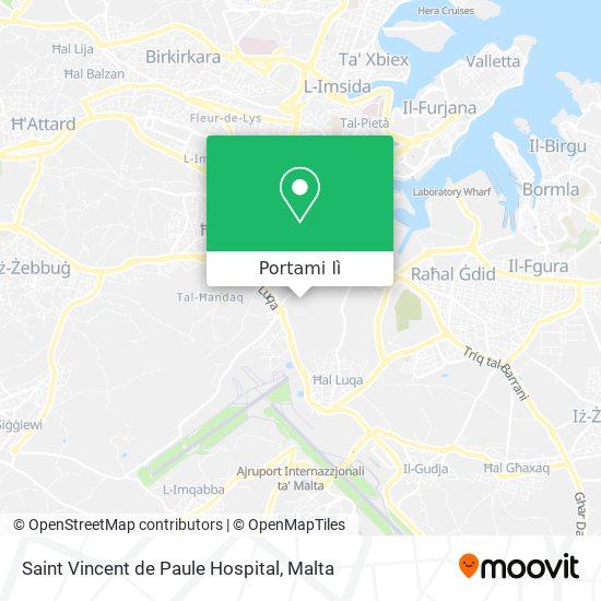 Mappa Saint Vincent de Paule Hospital