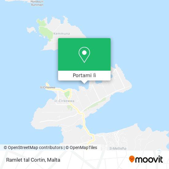 Mappa Ramlet tal Cortin