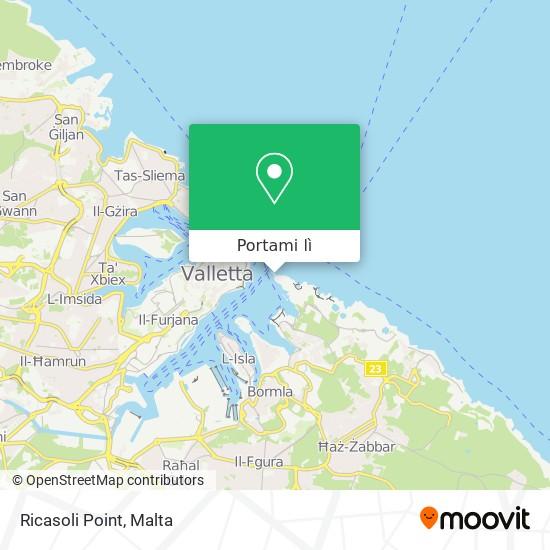 Mappa Ricasoli Point
