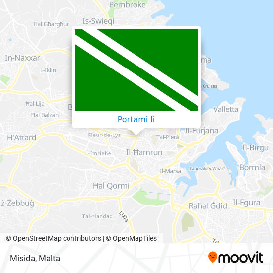 Mappa Misida