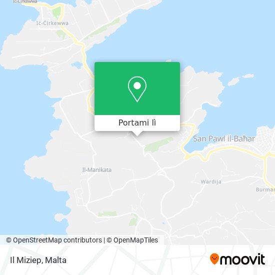 Mappa Il Miziep