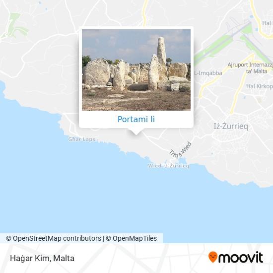 Mappa Haġar Kim