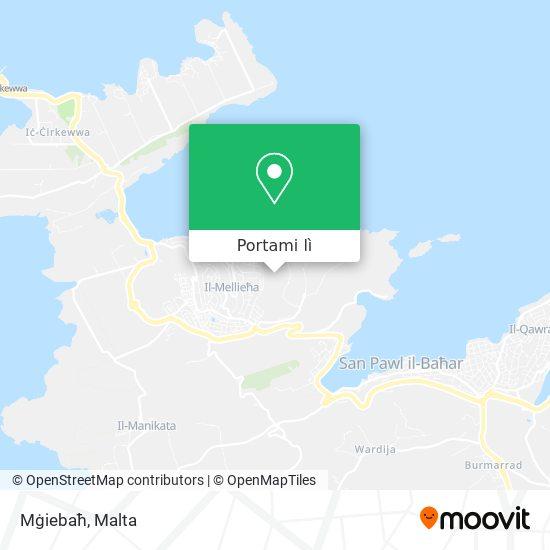 Mappa Mġiebaħ