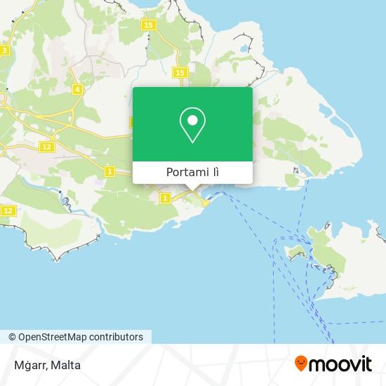 Mappa Mġarr