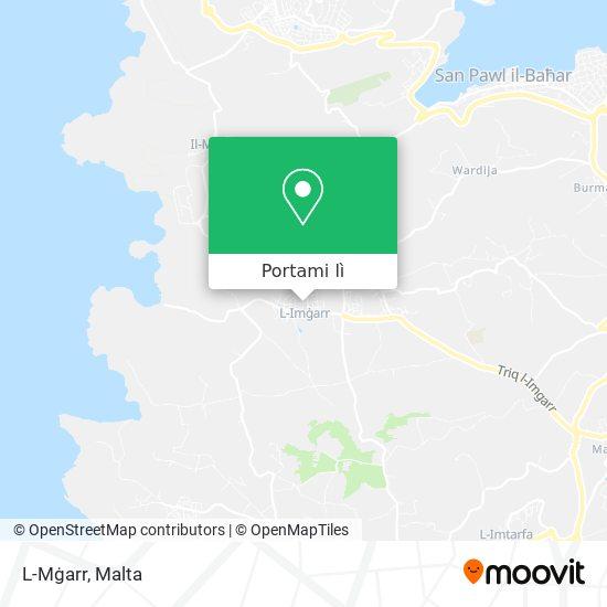 Mappa L-Mġarr