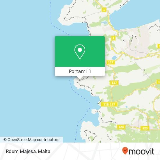 Mappa Rdum Majesa
