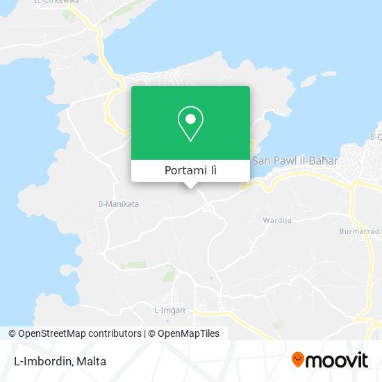 Mappa L-Imbordin