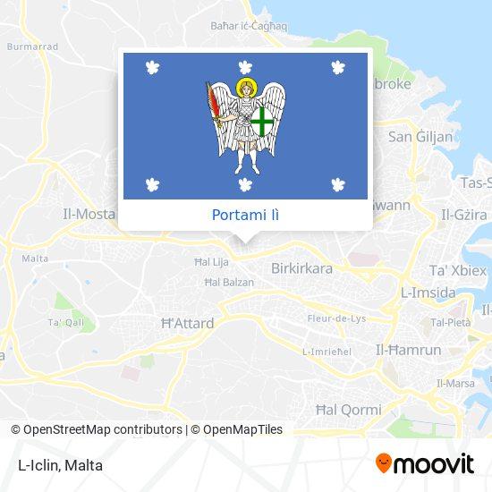 Mappa L-Iclin