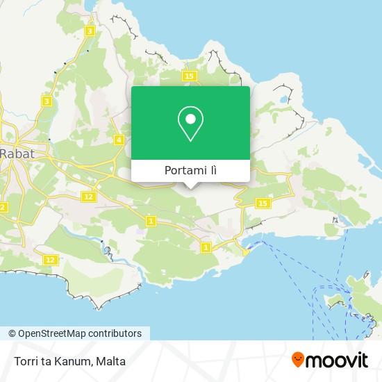 Mappa Torri ta Kanum