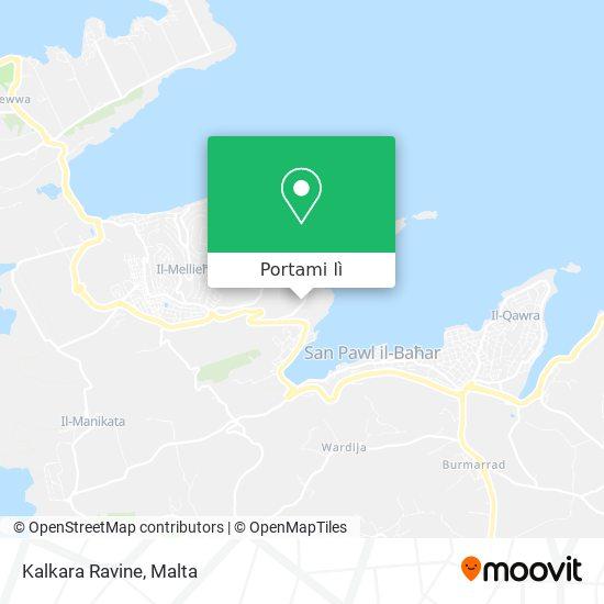 Mappa Kalkara Ravine