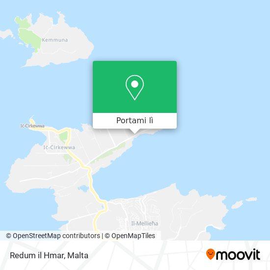 Mappa Redum il Hmar