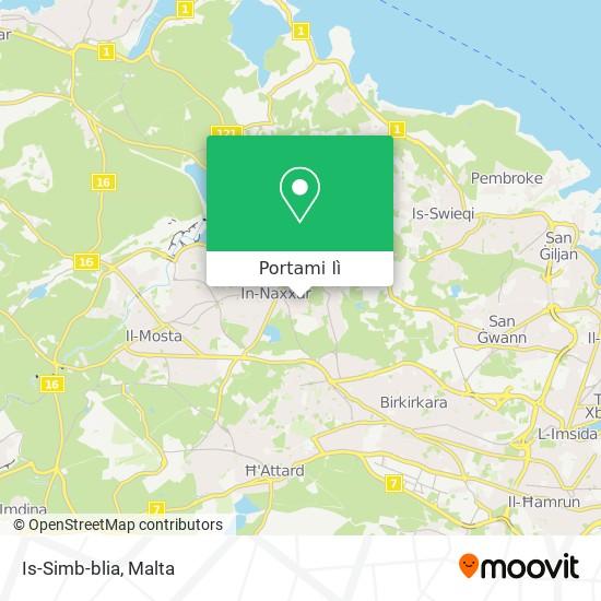 Mappa Is-Simb-blia