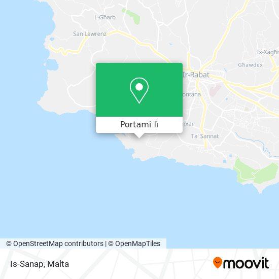 Mappa Is-Sanap